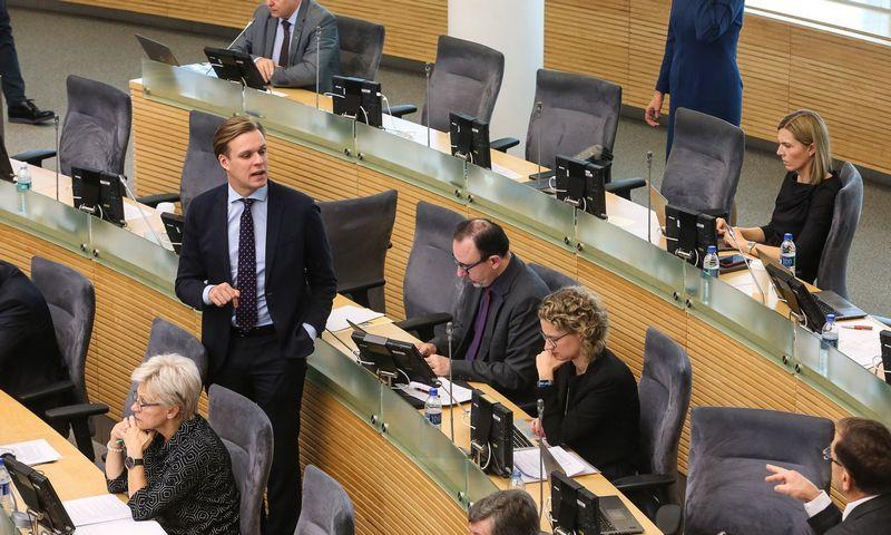 Konervatoriai siūlo stabdyti mokesčių reformą. Vladimiro Ivanovo (VŽ) nuotr.