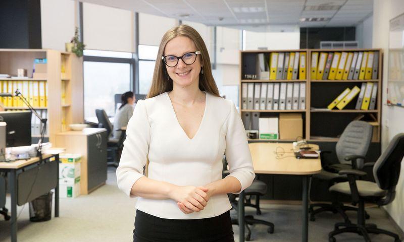 """Anželika Rusteikienė, Lietuvos """"Junior Achievement"""" direktorė. Juditos Grigelytės (VŽ) nuotr."""