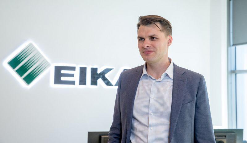 """Domas Dargis, nekilnojamojo turto plėtros ir statybos UAB """"Eika"""" generalinis direktorius. Juditos Grigelytės (VŽ) nuotr."""