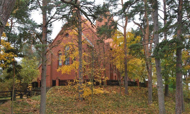 Nidos evangelikų liuteronų bažnyčia. Beatričės Laurinavičienės (VŽ) nuotr.