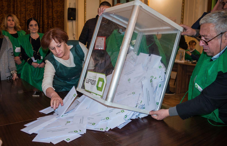 L. Linkevičius: Sakartvelo prezidentorinkimų data kelia abejonių dėl jų skaidrumo