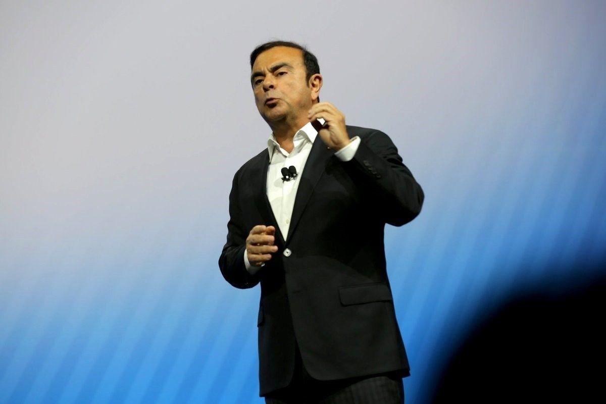 "Sulaikytas ""Renault-Nissan-Mitsubishi"" vadovas C. Ghosnas"