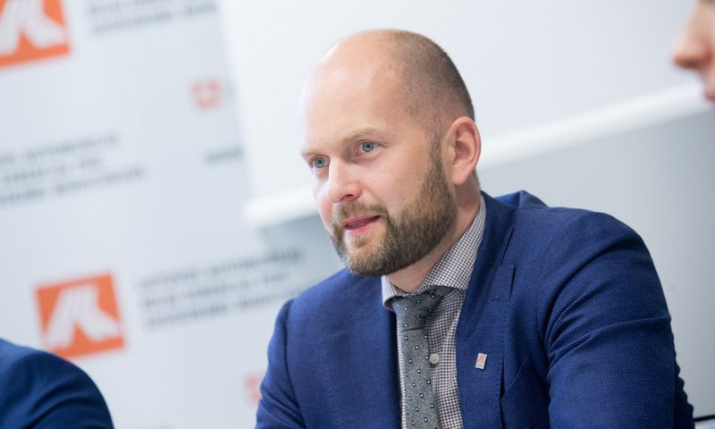 Vitalijus Andrejevas, paskirtas Lietuvos automobilių kelių direkcijos direktorius. Juditos Grigelytės (VŽ) nuotr.