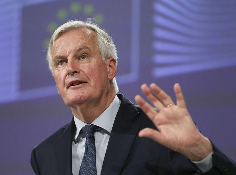 "Michelas Barnier (""Sipa/Scanpix"") nuotr."