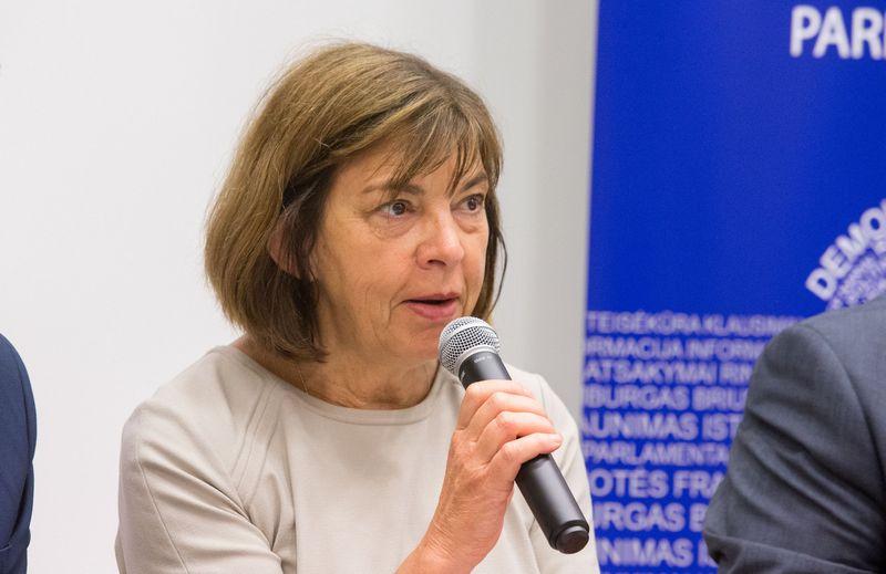 Rebecca Harms, EP narė. Juditos Grigelytės (VŽ) nuotr.