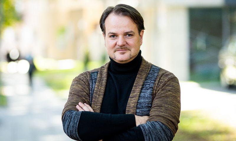 """Mindaugas Daraškevičius, """"Mini Boss Business School"""" mokyklų įkūrėjas: """"Mokyklose vaikai vis dar mokomi ne tų dalykų, kurie jiems pravers ateityje."""" Jorigio Jasiūno nuotr."""