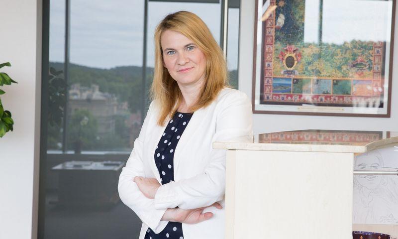 """Giedrė Domkutė, """"AAA Law"""" vadovaujančioji partnerė. Juditos grigelytės (VŽ) nuotr."""