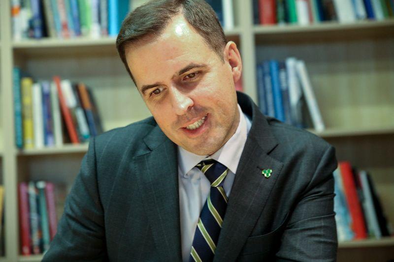 Martinas Shanahanas, Airijos tiesioginių užsienio investicijų agentūros vykdomasis direktorius., Vladimiro Ivanovo (VŽ) nuotr.