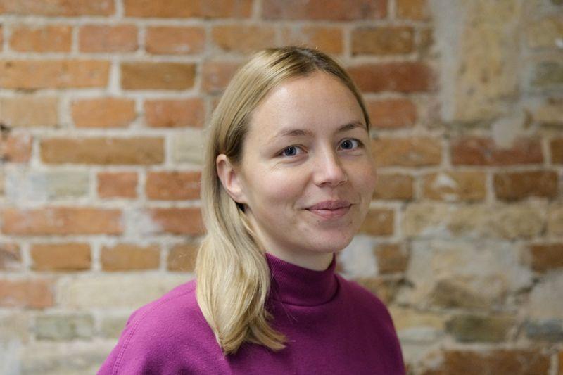 """Monika Katkutė-Gelžinė, """"bit&Byte"""" koordinatorė. Vladimiro Ivanovo (VŽ) nuotr."""