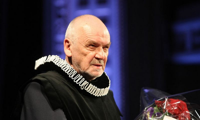 "Režisierius Eimuntas Nekrošius (1952 m. lapkričio 21 d.– 2018 m. lapkričio 20 d.), 2013 m.  ""15min""/""Scanpix"" nuotr."