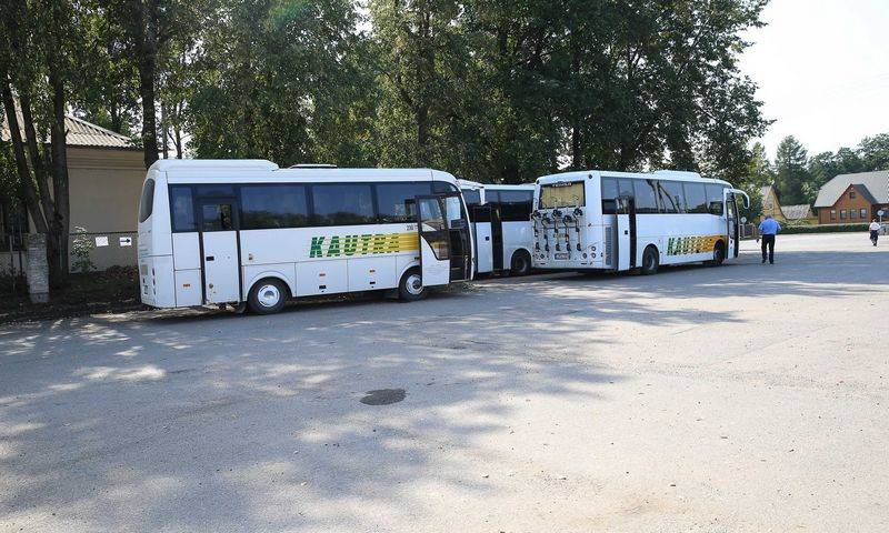 Autobusai – dominuojanti keleivių pervežamo priemonė. Vladimiro Ivanovo (VŽ) nuotr.