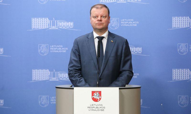 Saulius Skvernelis. Vladimiro Ivanovo (VŽ) nuotr.