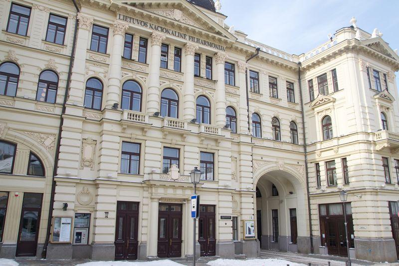 Lietuvos nacionalinė filharmonija, Vilnius. Monikos Pietarytės nuotr.