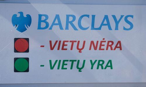 """Šaltiniai: """"Barclays"""" padalinyje Vilniuje gali subręsti daugiau pokyčių"""