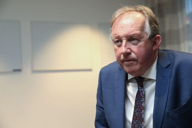 Tomas Parlonas, Airijos Statybos pramonės federacijos generalinis direktorius. Vladimiro Ivanovo (VŽ) nuotr.