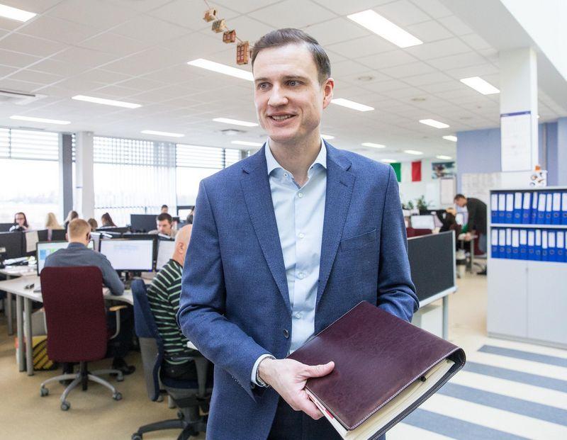 """Mindaugas Veselis, """"BTL Group"""" generalinis direktorius ir akcininkas. Juditos Grigelytės (VŽ) nuotr."""