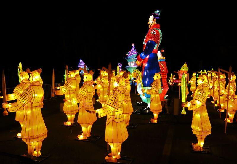"""Šviesos festivalio """"Didieji Kinijos žibintai"""" nuotr."""