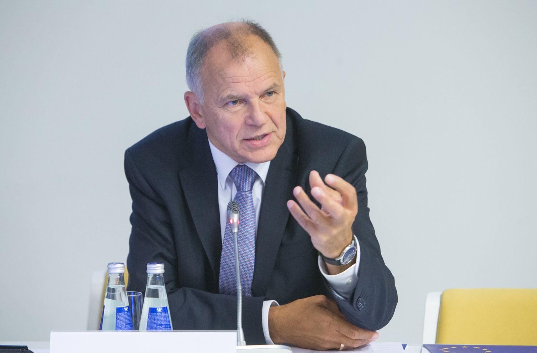 Eurokomisaras V. Andriukaitis tapo LSDP kandidatu į prezidentus
