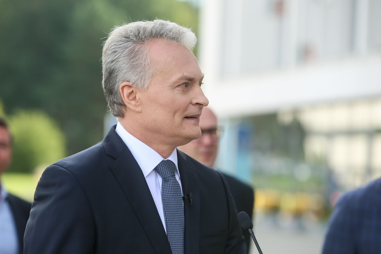 Populiariausiu kandidatu į prezidentus išlieka G. Nausėda