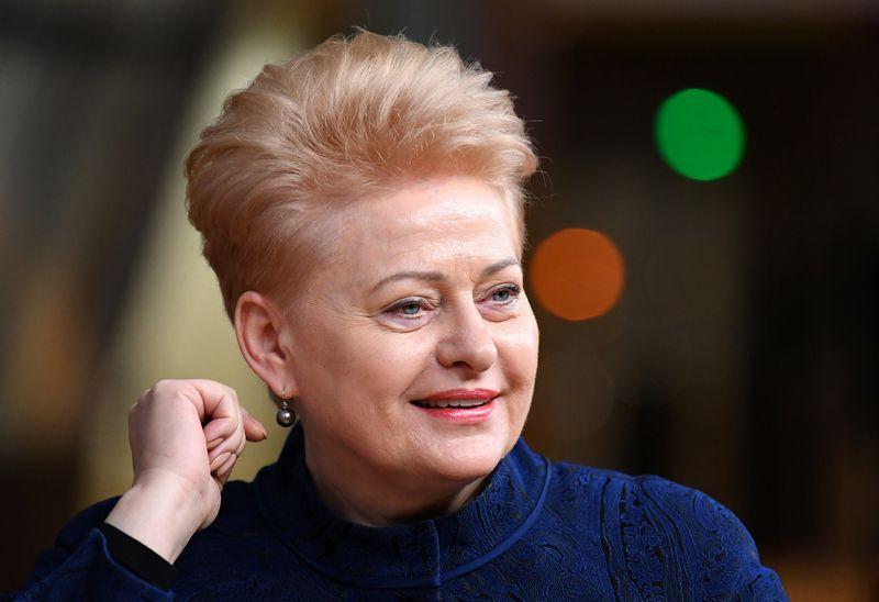 """Lietuvos prezidentė Dalia Grybauskaitė. Dylan Martinez (""""Reuters"""" / """"Scanpix) nuotr."""