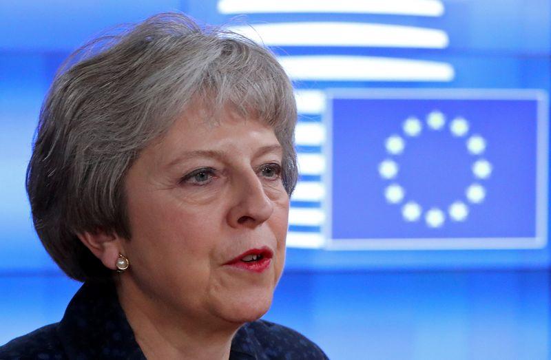 "Theresa May, JK premjerė. Yves Herman (""Reuters"" / ""Scanpix) nuotr."
