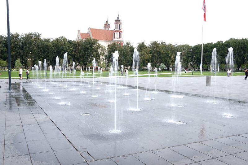 Metų atradimas Vilniuje – Lukiškių aikštės fontanas. Vladimiro Ivanovo (VŽ) nuotr.