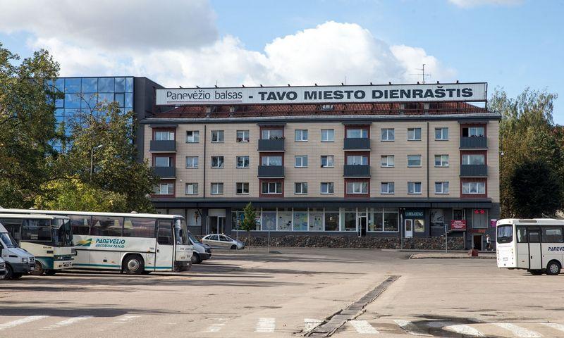 Panevėžio autobusų stotis. Juditos Grigelytės (VŽ) nuotr.