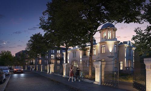 """""""Realinija"""" stato daugiabučius sostinės Naujamiestyje, dalis butų – istorinėje viloje"""