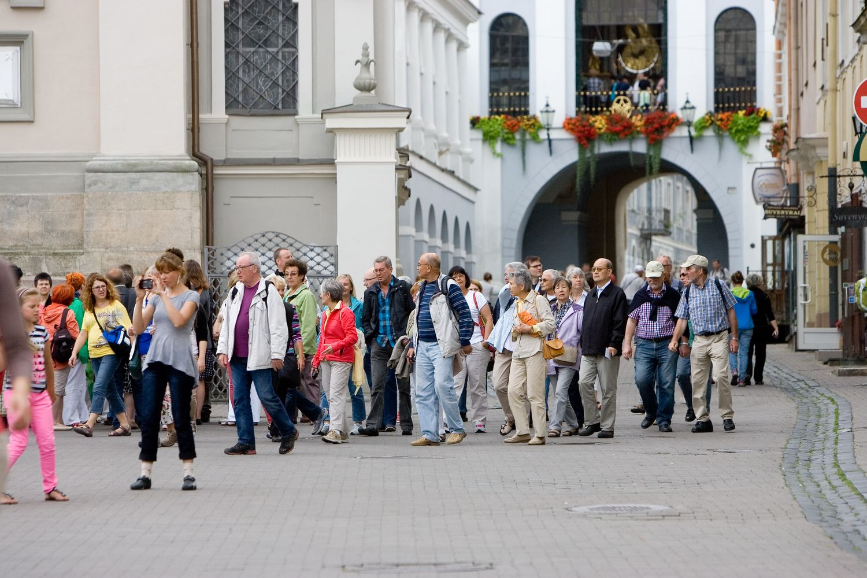 Vilniuje sparčiausiai daugėja turistų iš Vokietijos ir Jungtinės Karalystės