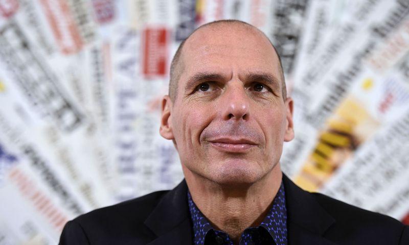 "Yanis Varoufakis. Luigi Mistrulli (""Sipa"" / ""Scanpix"") nuotr."