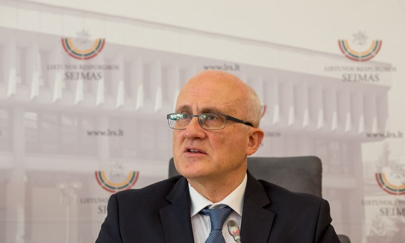 Seimo narys Stasys Jakeliūnas. Vladimiro Ivanovo (VŽ) nuotr.