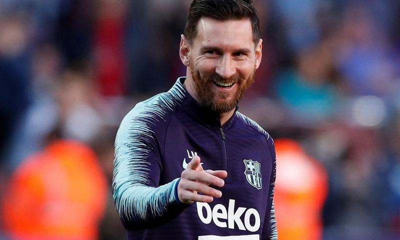 """""""Barcelonos"""" atlyginimų vidurkį gerokai kilstelėjo naujas kontraktas su Lioneliu Messi. """"Reuters"""" / """"Scanpix"""" nuotr."""