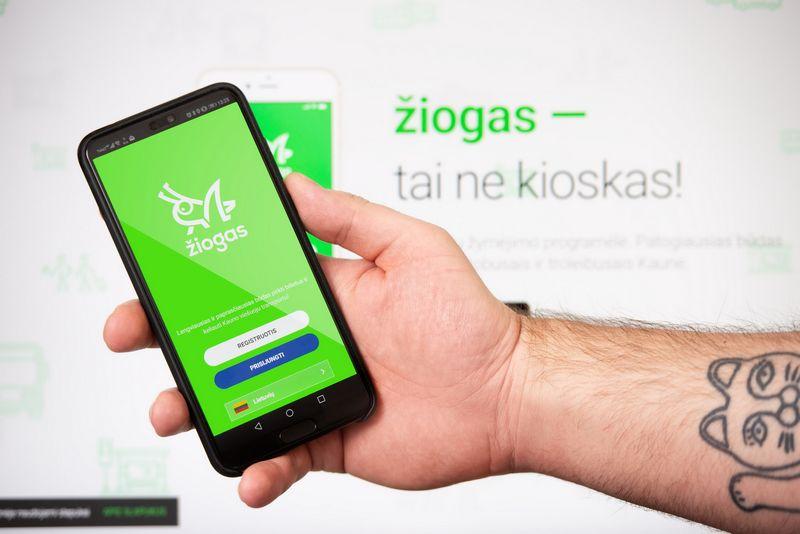Kauno viešajame transporte už bilietą bus galima mokėti mobiliąja programėle. Kauno m. savivaldybės nuotr.