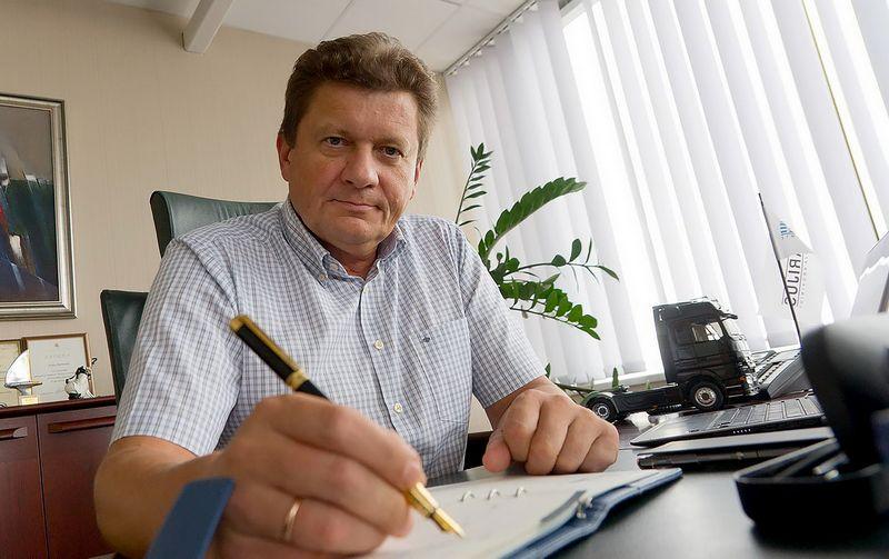 """Arijus Ramonas, UAB """"Arijus"""" generalinis direktorius. Algimanto Kalvaičio nuotr."""