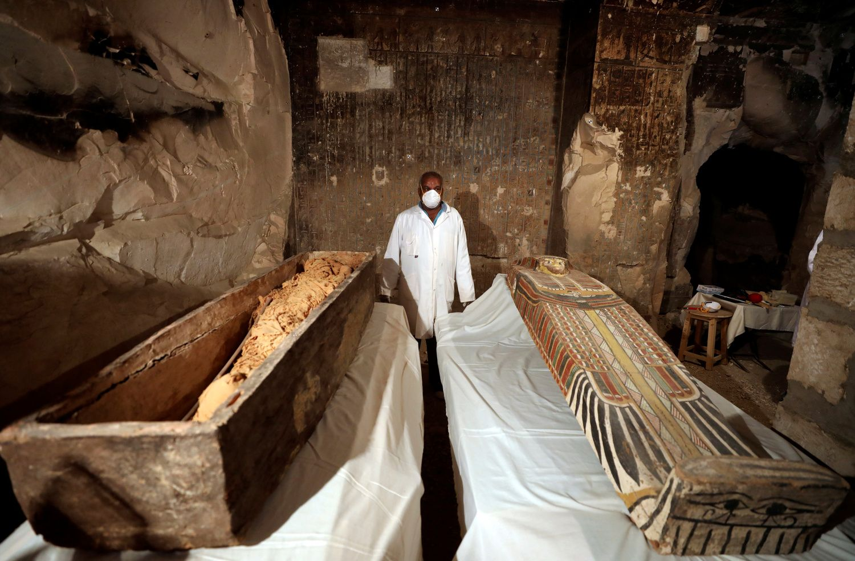Egipto masalas turistams - mumijos