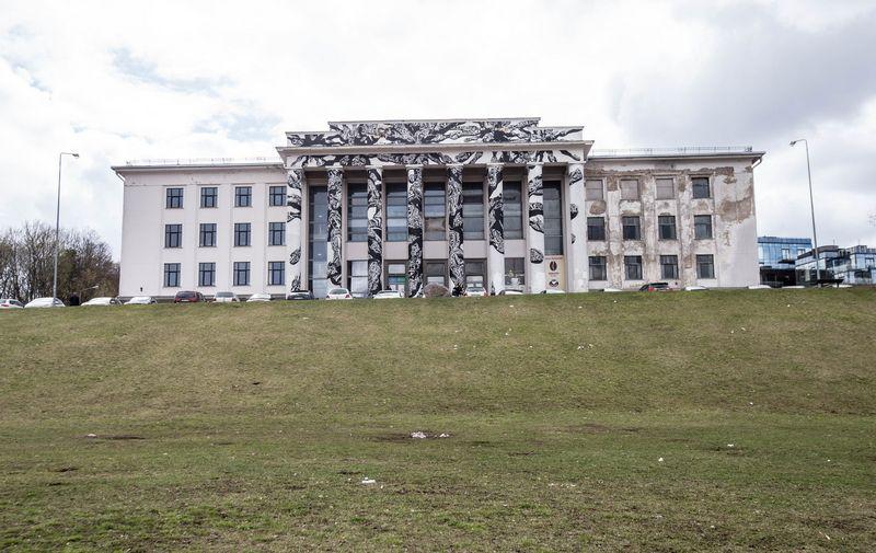 Profsąjungų  rūmai Vilniuje ant Tauro kalno. Juditos Grigelytės (VŽ) nuotr.