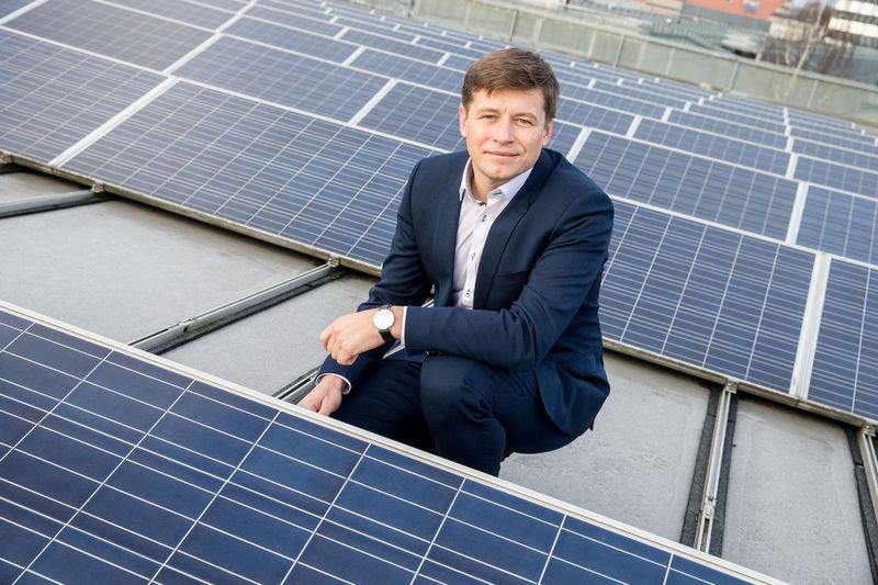 """Ruslanas Sklepovičius, """"Modus Energy"""" valdybos pirmininkas. Juditos Grigelytės (VŽ) nuotr."""