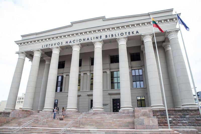Lietuvos nacionalinė Martyno Mažvydo biblioteka. Vladimiro Ivanovo (VŽ) nuotr.