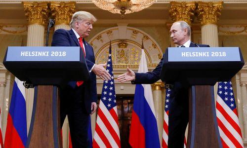 D. Trumpas atšaukė susitikimą su V. Putinu