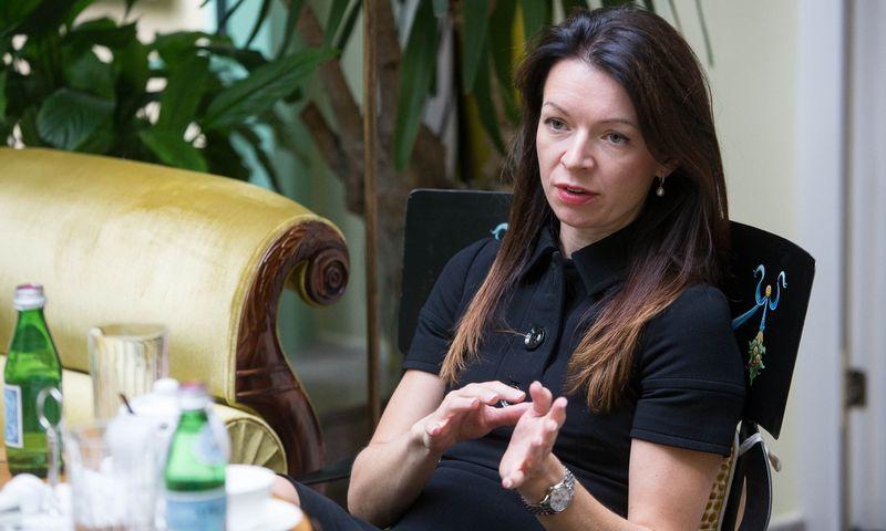 Laura Blaževičiūtė, komercinės televizijos TV3 generalinė direktorė. Vladimiro Ivanovo (VŽ) nuotr.
