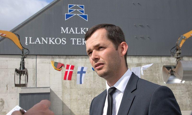 """Julius Kiršis UAB """"Malkų įlankos terminalas"""" direktorius."""
