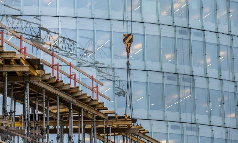 Pagal oficialią statistiką, statybos paslaugų eksportas praėjusį ketvirtį beveik nedidėjo. Juditos Grigelytės (VŽ) nuotr.