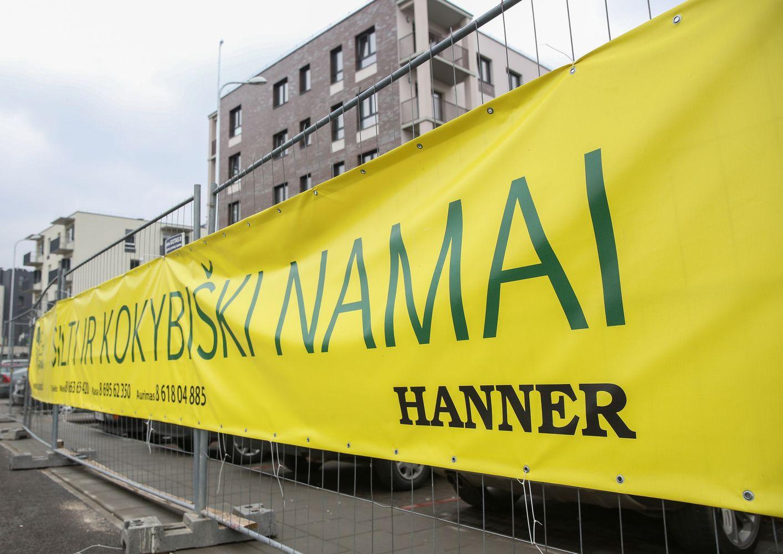 """""""Hanner"""" Vilniuje suplanavo butus, bet stato sandėliuką"""