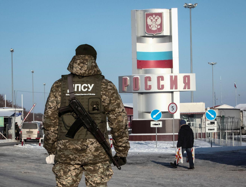 Ukraina uždraudė rusams vyrams atvykti į šalį