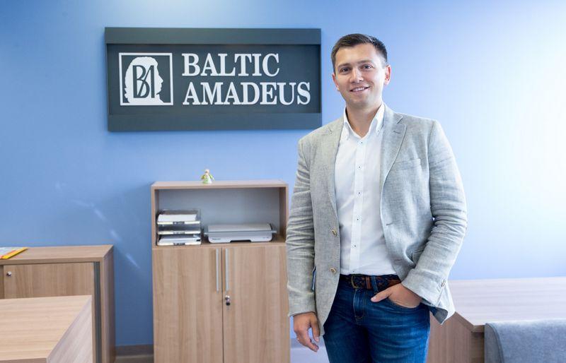"""Andžej Šuškevič, """"Baltic Amadeus"""" generalinis direktorius. Juditos Grigelytės (VŽ) nuotr."""