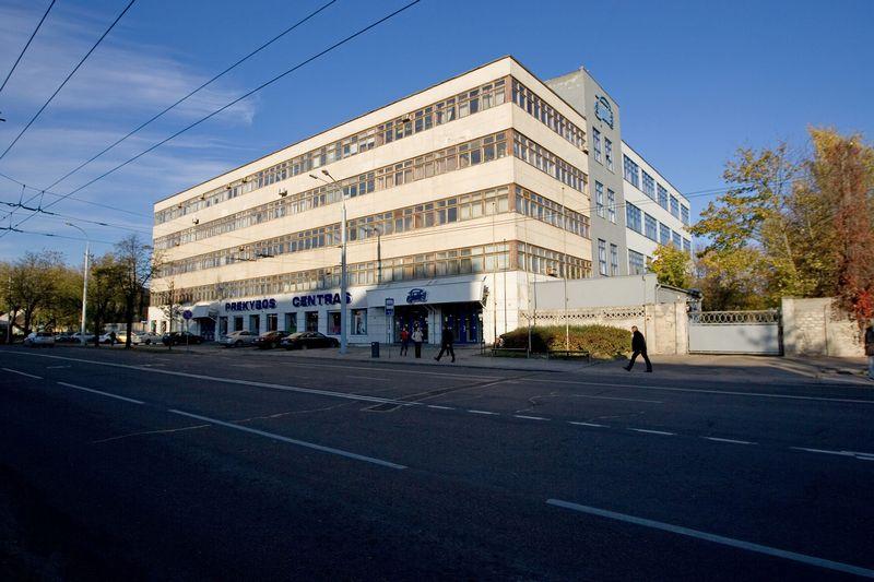 """""""Spartos"""" pastatas Vilniuje. Juditos Grigelytės (VŽ) nuotr."""