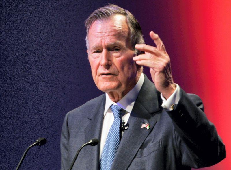 """George'as H. W. Bushas. """"Reuters"""" / """"Scanpix"""" nuotr"""