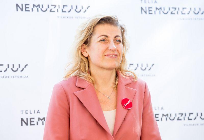 Atleistoji kultūros ministė Liana Ruokytė-Jonsson. Juditos Grigelytės (VŽ) nuotr.