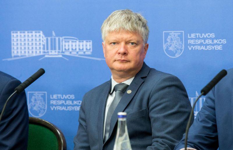 Kęstutis Navickas, atleidžiamas apinkos ministras.Vladimiro Ivanovo (VŽ)  nuotr.