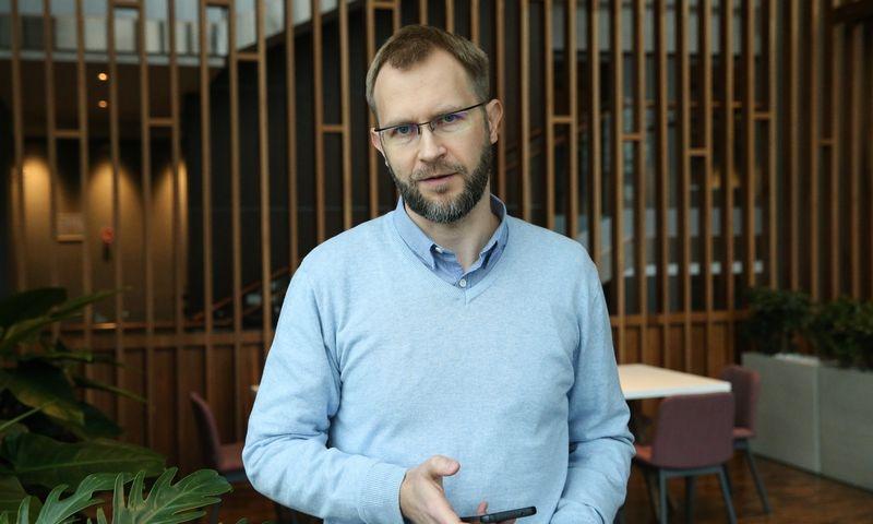 Marijus Kalesinskas, Pensijų fondų dalyvių asociacijos valdybos pirmininkas. Vladimiro Ivanovo (VŽ) nuotr.